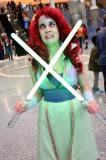 WonderCon 2016 Cosplay Funny Outtakes 136 Ariel Jedi