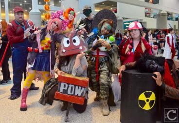 WonderCon 2016 Cosplay Funny Outtakes 137 Apocalypse Super Mario Bros.