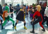 WonderCon 2016 Cosplay Funny Outtakes 17 Ivy Batgirl Harley