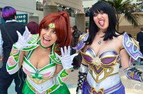 WonderCon 2016 Cosplay Funny Outtakes 21 Sailor Saturn Sailr Jupiter