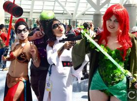 WonderCon 2016 Cosplay Funny Outtakes 30 Batman Star Wars Crossover
