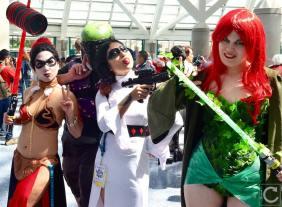 WonderCon 2016 Cosplay Funny Outtakes 30 Batman Star Wars Crossover