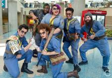WonderCon 2016 Cosplay Funny Outtakes 36 Fallout 4 Survivors