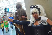 WonderCon 2016 Cosplay Funny Outtakes 45 Storm Selfie X-Men