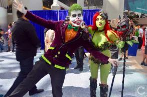 WonderCon 2016 Cosplay Funny Outtakes 48 Joker Poison Ivy