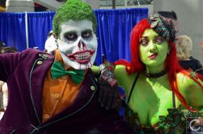 WonderCon 2016 Cosplay Funny Outtakes 49 Poison Ivy Joker
