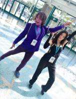 WonderCon 2016 Cosplay Funny Outtakes 5 Jessica Jones Purple Man