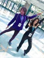 WonderCon 2016 Cosplay Funny Outtakes 5 Jessica Jones Purple Man