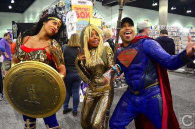 WonderCon 2016 Cosplay Funny Outtakes 61 Superman Wonder Woman