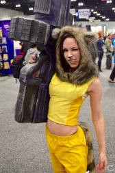 WonderCon 2016 Cosplay Funny Outtakes 63 Rocket Raccoon Crossplay
