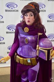 WonderCon 2016 Cosplay Funny Outtakes 71 Meg Hercules Boba Fett