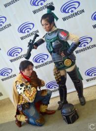 WonderCon 2016 Cosplay Funny Outtakes 72 Woody Mulan Boba Fett