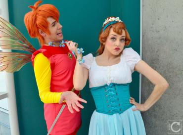 WonderCon 2016 Cosplay Funny Outtakes 74 Thumbelina Prince Cornelius