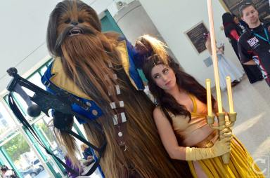 WonderCon 2016 Cosplay Funny Outtakes 80 Chewbacca Beauty and the Beast Belle
