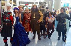 WonderCon 2016 Cosplay Funny Outtakes 87 Game of Thrones Group