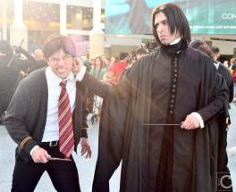 WonderCon 2016 Cosplay Funny Outtakes 92 Harry Potter Snape