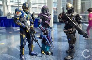WonderCon Cosplay Saturday 2016 1 Halo Spartans