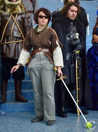 WonderCon Cosplay Saturday 2016 100 Game of Thrones Blind Arya Stark