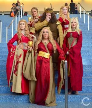 WonderCon Cosplay Saturday 2016 103 Game of Thrones Cersei Robert Baratheon