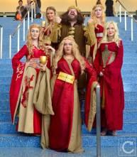 WonderCon Cosplay Saturday 2016 104 Game of Thrones Robert Baratheon Cersei