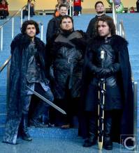 WonderCon Cosplay Saturday 2016 107 Game of Thrones Night's Watch Group