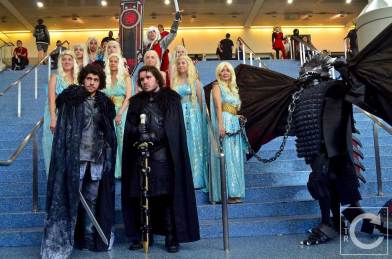 WonderCon Cosplay Saturday 2016 108 Game of Thrones Daenerys and Jon Snow