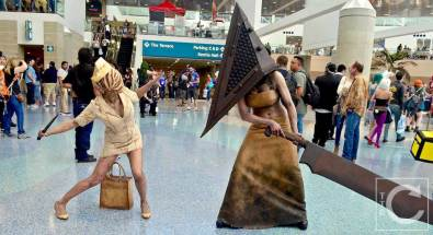 WonderCon Cosplay Saturday 2016 114 Silent Hill Nurse Pyramid Head