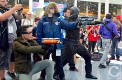 WonderCon Cosplay Saturday 2016 123 CW DC Comics Villains Zoom Captain Cold