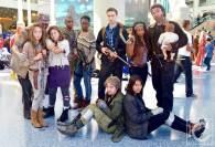 WonderCon Cosplay Saturday 2016 126 The Walking Dead Reel Guise Group