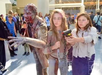 WonderCon Cosplay Saturday 2016 128 The Walking Dead Reel Guise Liza Mika Zombie