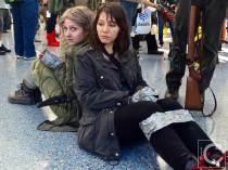 WonderCon Cosplay Saturday 2016 129 The Walking Dead Reel Guise Maggie Carol
