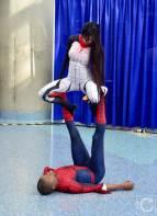 WonderCon Cosplay Saturday 2016 132 Silk and Spiderman Yoga
