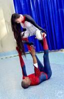 WonderCon Cosplay Saturday 2016 133 Silk and Spiderman Yoga