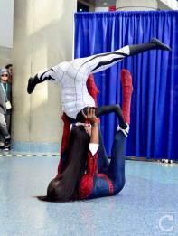 WonderCon Cosplay Saturday 2016 134 Silk and Spiderman Yoga