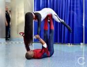 WonderCon Cosplay Saturday 2016 135 Silk and Spiderman Yoga