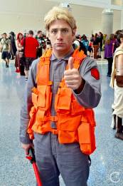WonderCon Cosplay Saturday 2016 137 Star Wars Force Awakens Kylo Ren Matt SNL