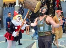 WonderCon Cosplay Saturday 2016 141 Harley Quinn Bane