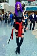 WonderCon Cosplay Saturday 2016 149 Psylocke Purple Hair