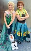 WonderCon Cosplay Saturday 2016 151 Frozen Anna Elsa Disney Twincess