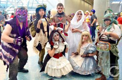 WonderCon Cosplay Saturday 2016 155 Alice in Wonderland Steam Punk