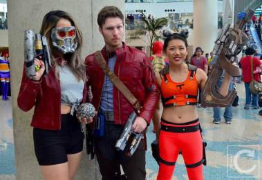 WonderCon Cosplay Saturday 2016 162 Guardians of the Galaxy Group