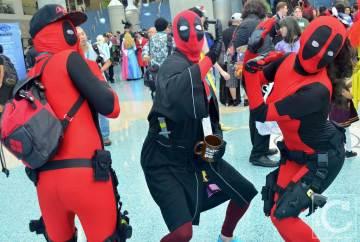WonderCon Cosplay Saturday 2016 175 Deadpool Group