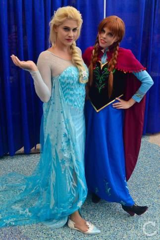 WonderCon Cosplay Saturday 2016 183 Elsa Anna Frozen