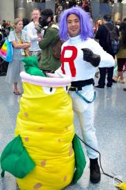 WonderCon Cosplay Saturday 2016 189 Team Rocket Pokemon James Victreebel