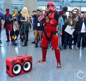WonderCon Cosplay Saturday 2016 195 Red Hip Hop Trooper