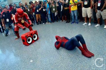 WonderCon Cosplay Saturday 2016 197 Red Hip Hop Trooper Spiderman