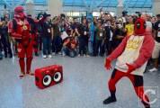 WonderCon Cosplay Saturday 2016 198 Red Hip Hop Trooper Deadpool