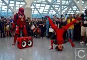 WonderCon Cosplay Saturday 2016 199 Red Hip Hop Trooper Deadpool Dance Battle