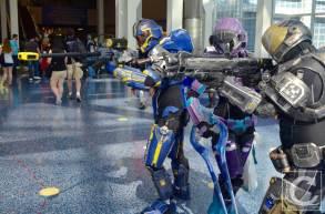 WonderCon Cosplay Saturday 2016 2 Halo Spartans