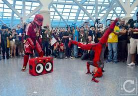 WonderCon Cosplay Saturday 2016 201 Red Hip Hop Trooper Lady Deadpool